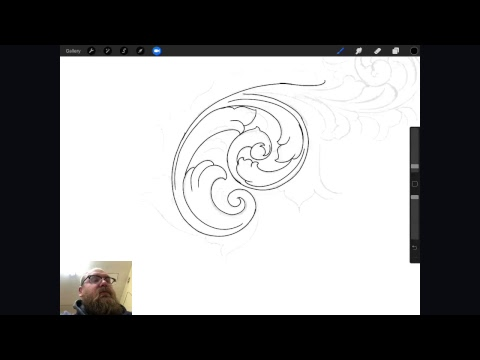 How To Draw Scroll Work For Metal Engraving Mp3