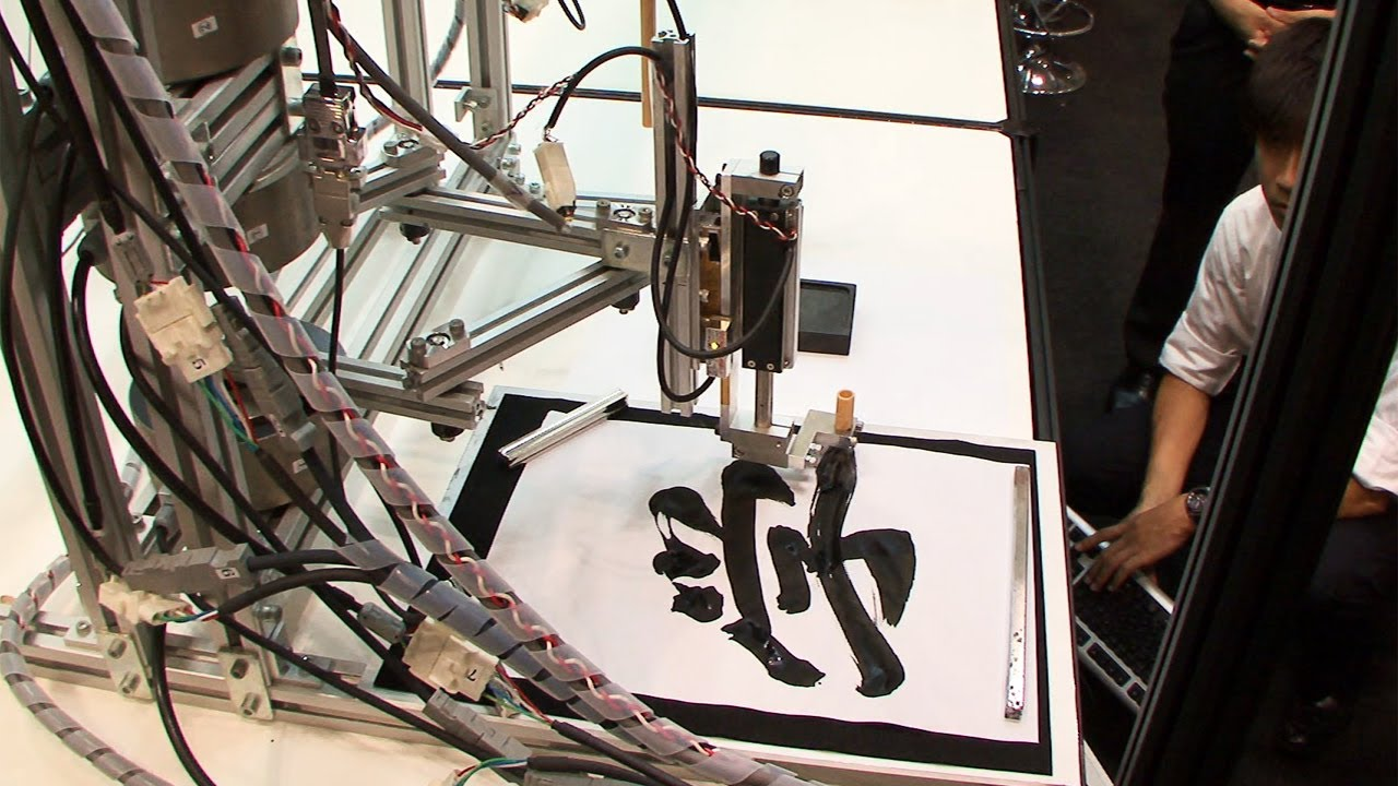 This Motion-Capture Robot Could One Day Paint A Masterpiece