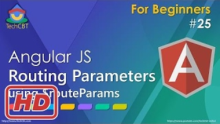 [Javascript Tutorial] AngularJS - Routing Parameters (using ngRoute, $routeParams and redirection))