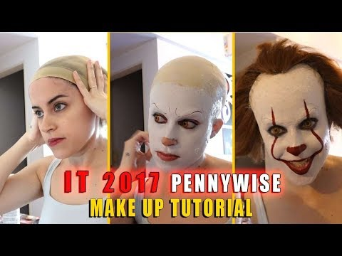 IT 2017 - Pennywise Make Up Tutorial
