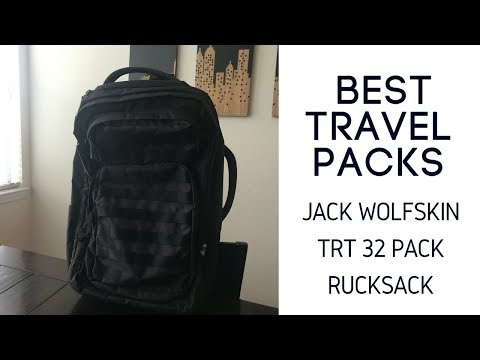 Best Travel Packs: Jack Wolfskin Trt 32 Pack Rucksack Review