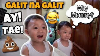 MY 2 YEARS OLD SON REACTION TO POOP PRANK! SUPER FUNNY! 😂 ayaesguerra
