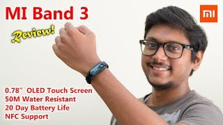 Xiaomi Mi Band 3 Unboxing & Review India