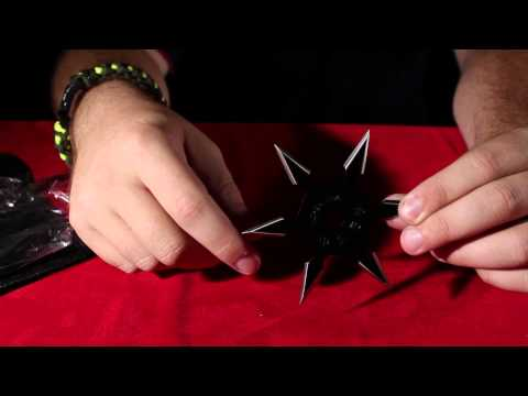 Kohga Ninja 6-Point Throwing Star (Black)