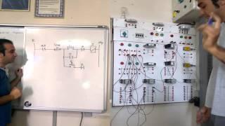Elektriksel Kilitlemeli Devir Yönü Değiştirme Kumanda Devresi