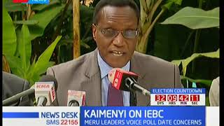 Meru county section of leaders amongst Jacob Kaimenyi add their voice to supreme court ruling