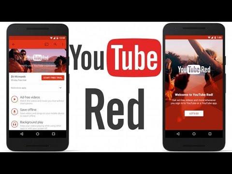 como funciona youtube red