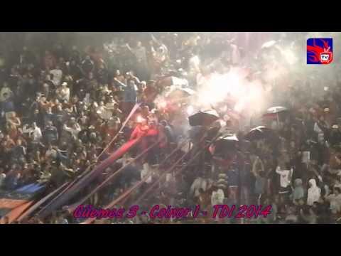 """""""Güemes 3   Coinor 1   La hinchada"""" Barra: Los Pibes • Club: Güemes"""