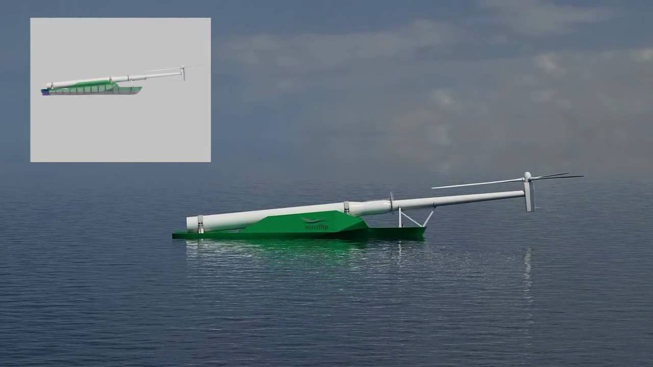 Is This A Wind Turbine Or A Gigantic Bath Toy?