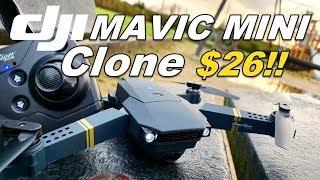 DJI Mavic Mini Clone Eachine E58 Drone Review Wiith Antenna Range Upgrade and WIFI MOD