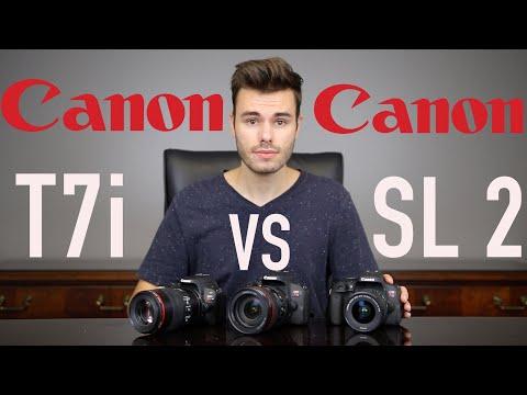 Download Hands On Review Canon T7i 800d Vs Nikon D5600 Video 3GP Mp4
