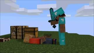 [Minecraft Анимация]Sky Wars√