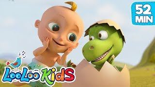 Johny And Zigaloo   Funny Dance For KIDS | LooLoo KIDS