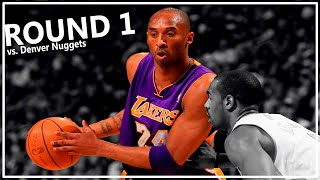 Kobe Bryant Last Playoffs Round 1 2012 Offense Highlights - MAMBA!