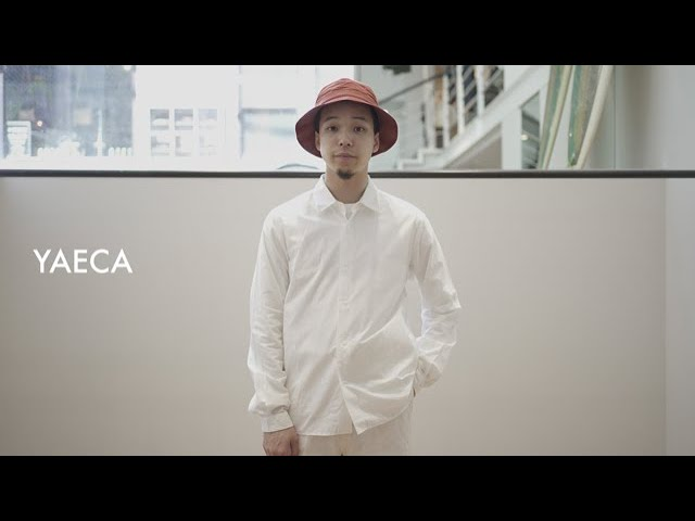 日々の生活に寄り添うプロダクト的なデザインが魅力のYAECA/コンフォートシャツを解説。