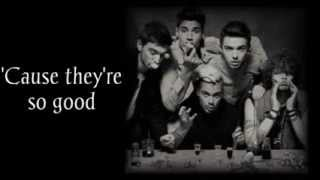 The Wanted - Let's Get Ugly (Lyrics + Pictures)