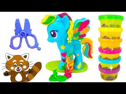 My Little Pony - Min lilla Ponny - Rolig lek med leksaker för barn - Lär dig svenska