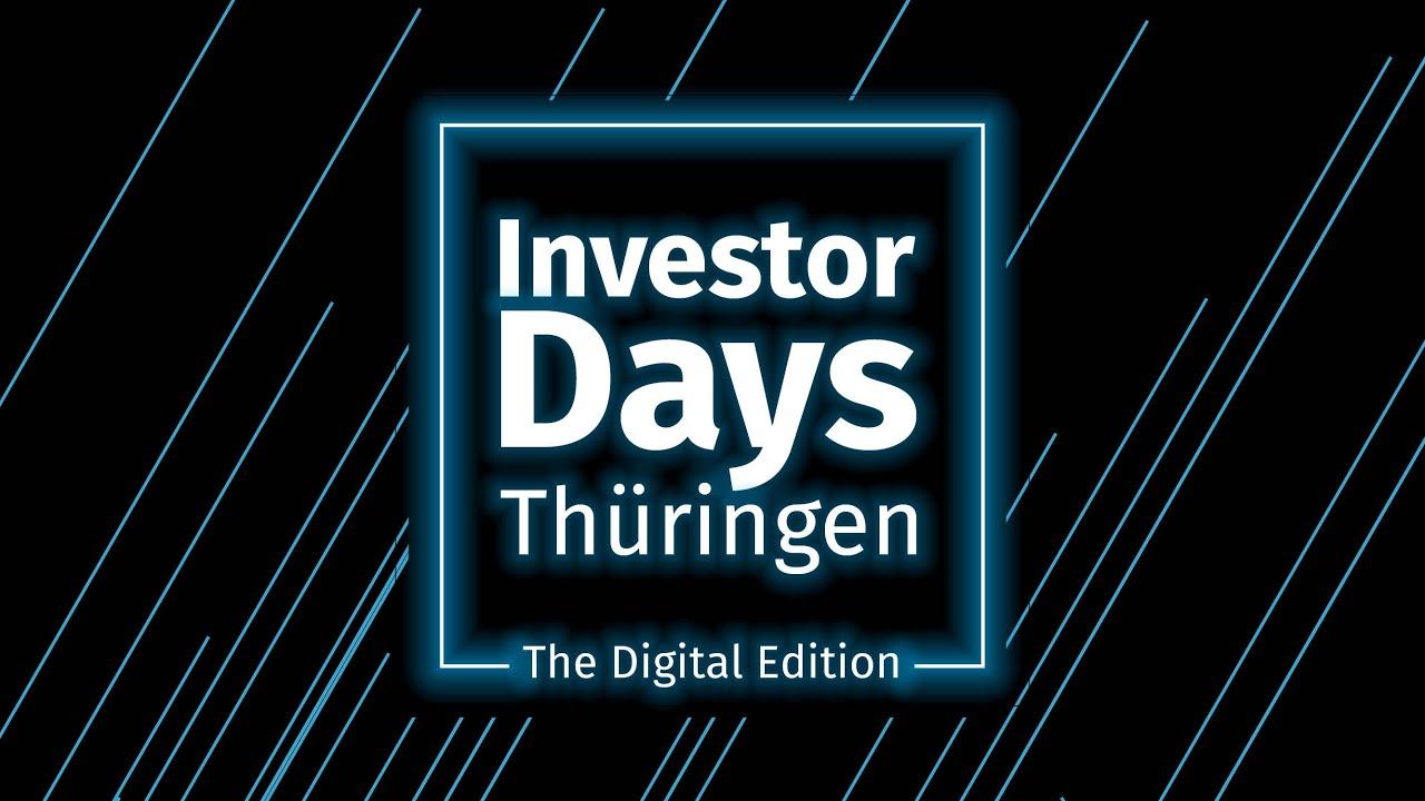 Rückblick Investor Days Thüringen 2020