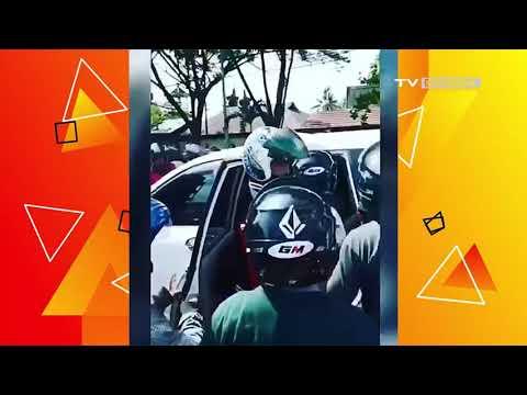Ugal-Ugalan! Mobil di Banjarmasin Diamankan Warga dan Polisi