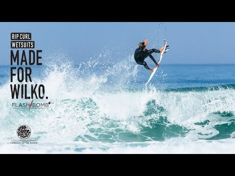 Matt Wilkinson | Made For Waves 2018 | Wetsuits by Rip Curl