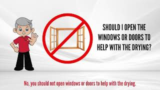 open video 9. Should You Open Windows Or Doors To Help With Drying?