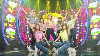《CUTE》 소나무(SONAMOO) - 빙그르르(Round N Round) @인기가요 Inkigayo 20150927