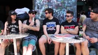 Bird Attack interviews Lineout - Pouzza Fest 2015