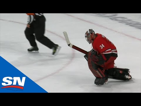 Petr Mrazek And Dougie Hamilton Shine In Shootout Between Hurricanes & Penguins