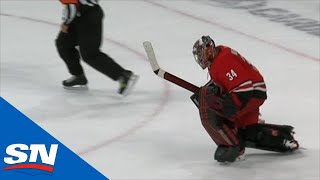 Petr Mrazek And Dougie Hamilton Shine In Shootout Between Hurricanes & Penguins