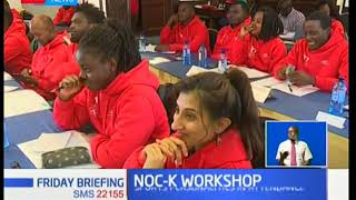 NOCK organizes a workshop to train athletes on how to manage their wealth prepping for retirement