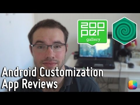 Android Customization App Reviews