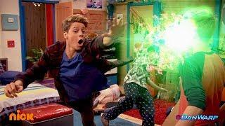 Hudson Turns into Kid Danger! | Danger Games |  Dan Schneider