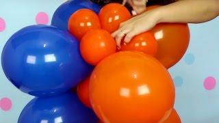 Este vídeo ensina passo a passo como fazer uma coluna de balões (bexigas) quadrada de duas cores. É uma coluna em formato diferente!!!! Pode ser feita em qualquer tema é só trocar as cores!!! Não precisa de base e cano.