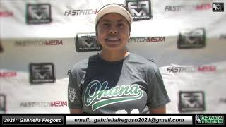 2021 Gabriella Fregoso Speedy Slapper and Outfield Softball Skills Video - Ohana Tigers