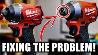 FIXING MILWAUKEE M18 FUEL Gen 3 IMPACT DRIVER COLLET PROBLEM (must Watch)