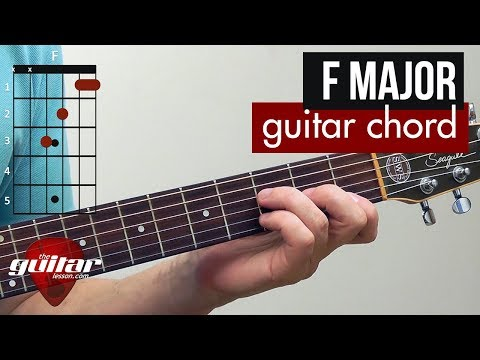 How to play the F major chord | Beginner guitar lesson