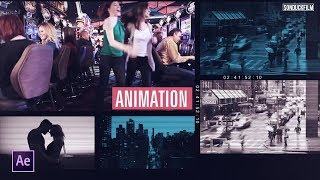 Create a Multiple Video Slideshow | After Effects Tutorial