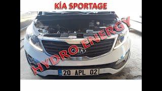Kia sportage 1.6 plus hidrojen yakıt sistem montajı