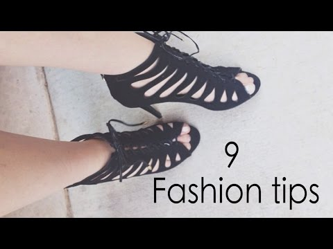 9 Fashion tips ♡ EVERY WOMAN SHOULD KNOW!