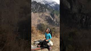 preview picture of video 'Hannah - Tiger Leaping Gorge Hike Day 2'