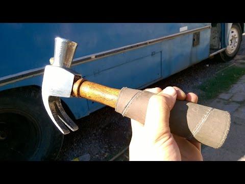 Restaurando herramienta antigua(martillo) -Restoring Hammer(Trabajo Artesanal)