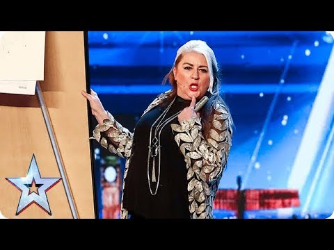Magic Mandy BEWITCHES the Judges! | Auditions | BGT 2018 (видео)