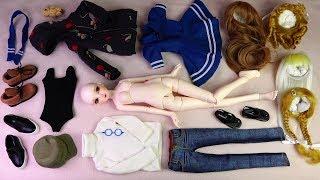 ★구체관절인형 다락 세미 개봉후기/옷입히기★Ball Jointed Doll (MSD)Darak SEMY Unboxing/かわいい球体関節人形/Doll Dress Up