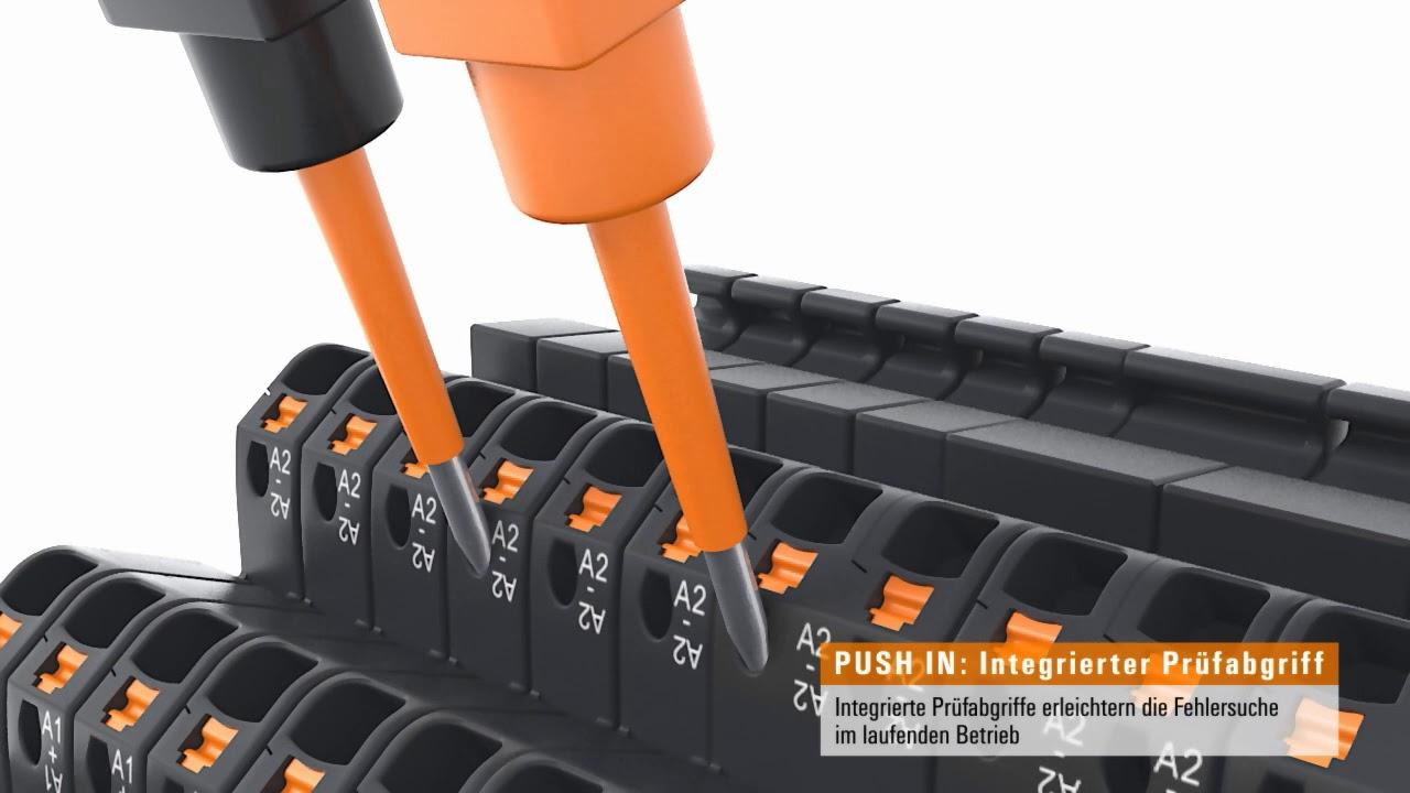 TERMSERIES Relaiskoppler in 6 mm Baubreite