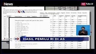 Pasangan Jokowi-Ma'ruf Amin Dominasi Suara Di Amerika Serikat - INews Siang 26/04