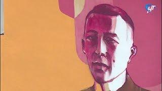От рук вандалов пострадало панно с изображением композитора Сергея Рахманинова