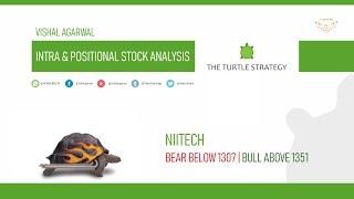 NIITTECH STOCK ANALYSIS INTRA & POSITIONAL BEAR OR BULL