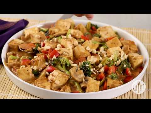 How to Make Tofu and Veggies in Peanut Sauce | Dinner Recipes | Allrecipes.com