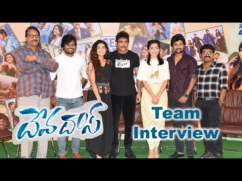 Devadas Movie Team Pressmeet