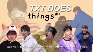 TXT DOES THINGS #1 {TXT CRACK}